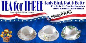 Tea for Three: Lady Bird, Pat and Betty